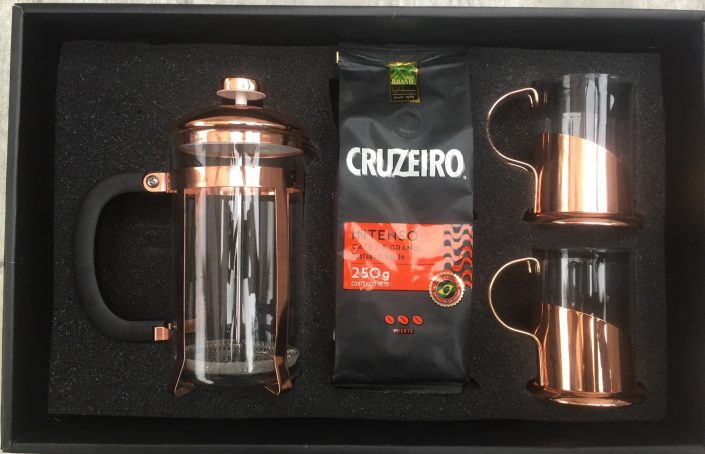 SET CAFE CuIN COBRE INCLUSIVO
